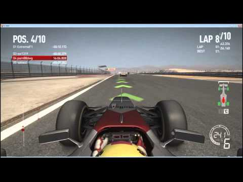 Rd.4 Bahrain Final 2/2 GP Nights Codemasters F1 2010 PC online multiplay