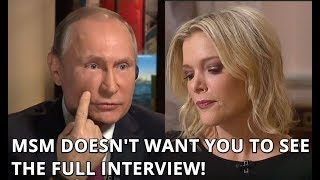 EXCLUSIVE FULL UNEDITED Interview of Putin with NBC's Megyn Kelly