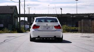 E90 335i Modified Stock Exhaust (Launch) videos