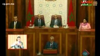 عرض رئيس الحكومة للحصيلة المرحلية لعمل الحكومة