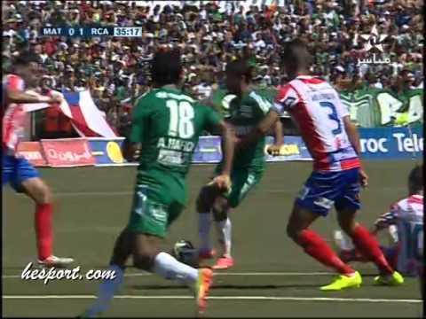 أهداف المغرب التطواني والرجاء البيضاوي (1 – 1)
