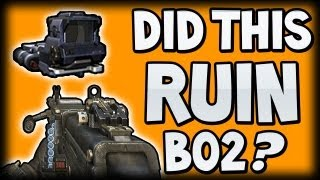 """BO2 - Did The """"TARGET FINDER / LMG COMBO"""" Ruin Black Ops 2? Will Ghosts LMG's be OP?"""