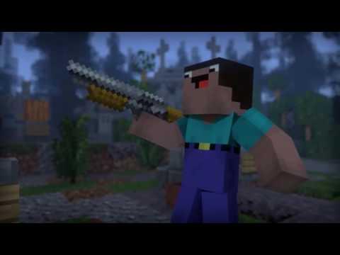Phim minecraft : xác sống [ tập 1 ]
