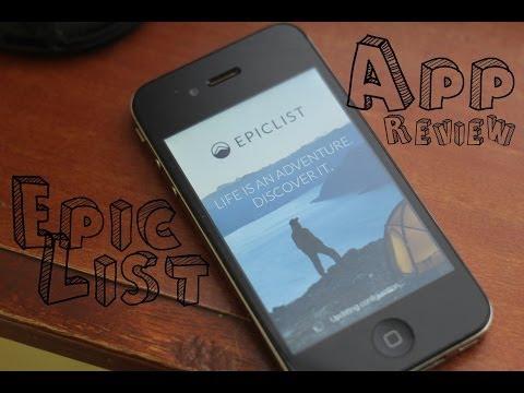 Smartphone App Review: Epiclist