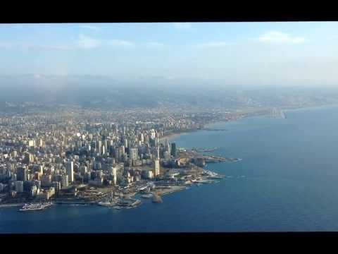 Beirut from final runway 16