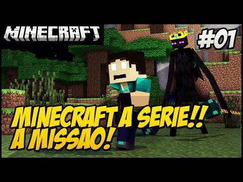 Minecraft A SERIE 2! O INÍCIO! A MISSÃO! #1 (REZENDEEVIL)