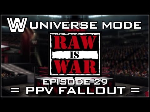 WWE 13 Universe Mode - RAW Is WAR: Bragging Rights Fallout (Episode 29)