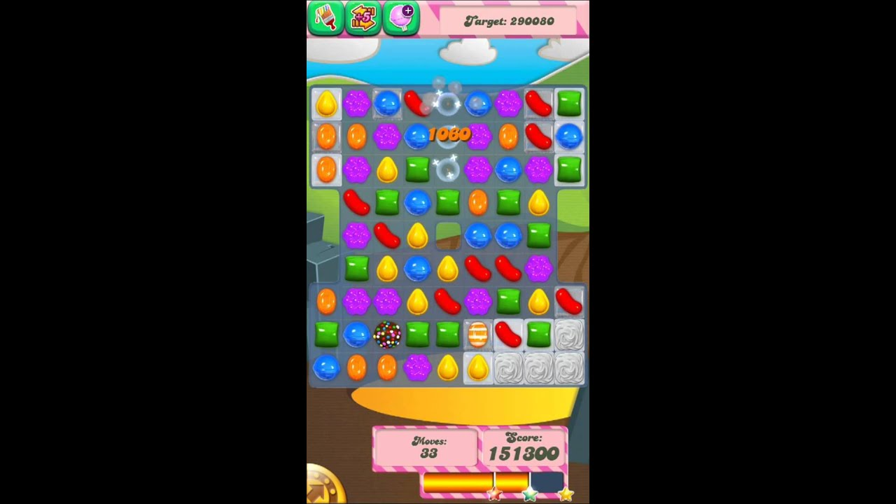 Candy Crush Saga Level 29 iPhone Version 3 Stars - YouTube