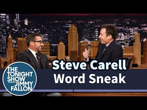 Word Sneak with Steve Carell