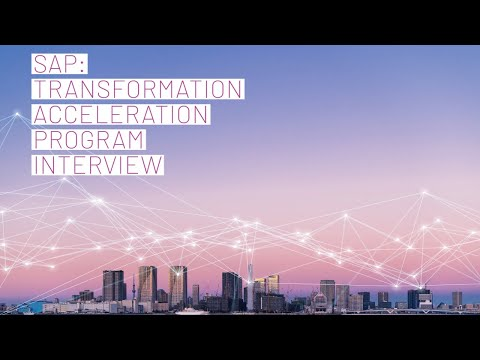 Fawaz Al-Nouri at SAP,  General Manager, Transformation Acceleration Program Interview