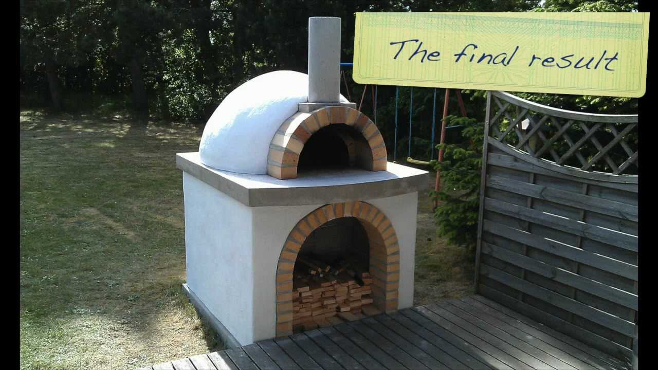 how to build a pizza oven youtube