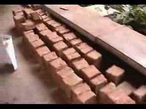 Ręczna produkcja cegieł