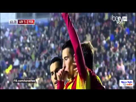 Barcelona vs Levante 4-1
