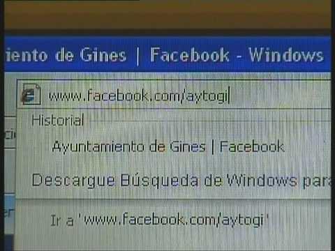 El Ayuntamiento de Gines, en Facebook
