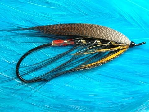 Tying a Spey Style Salmon Fly by Davie McPhail.