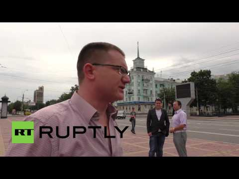 Ukraine: Lugansk residents call on UN to