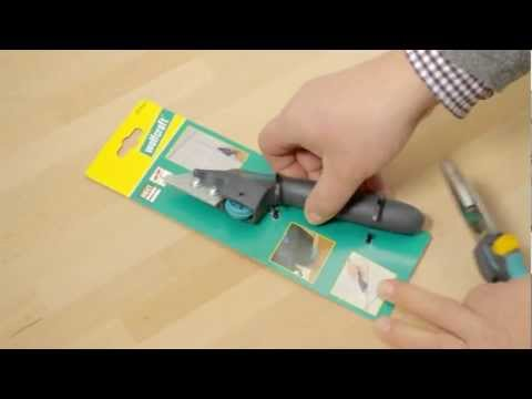 Wolfcraft grattoir joints carrelage youtube - Outil pour retirer joint carrelage ...