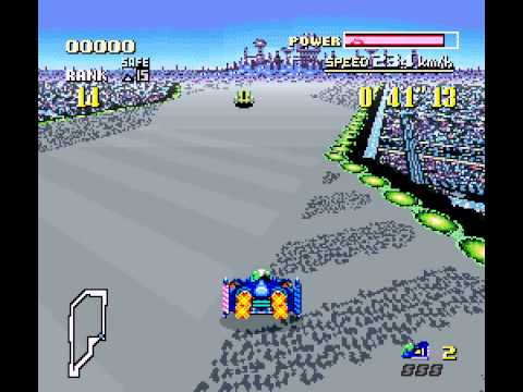 F-ZERO - Mute City Music (Excuse my lack of racing skill) - User video