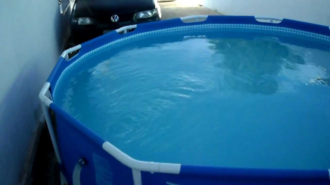 Piscina intex litros youtube - Piscinas de plastico ...