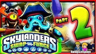 Skylanders Swap Force Wii U Walkthrough Part 2 Cascade