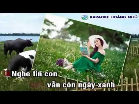 [Karaoke Nhạc Sống] Hoa Cài Mái Tóc Beat Phú Quí