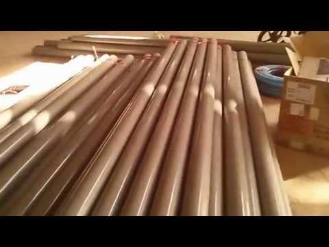 Máy Thổi Ống Nhựa Từ PVC