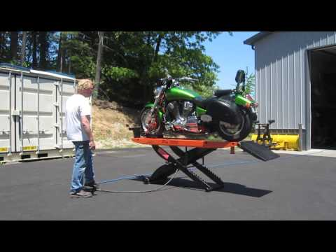 PRO 1200 RAISING AND LOWERING 734 lb MOTORCYCLE - Part 2