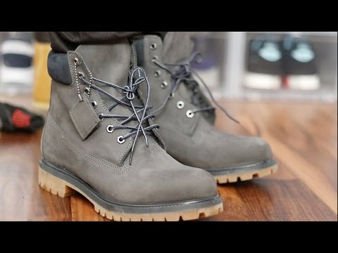 Timberland Boots On Feet