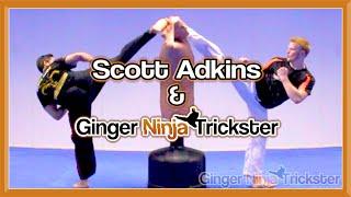 Scott Adkins & Ginger Ninja Trickster A Taste Of Things