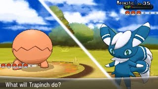 Pokemon X And Y Part 42 Calem Battle And Trapinch