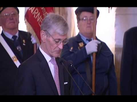 U.S. Secretary of the Army Wreath Laying Ceremony in France SPOTLIGHT