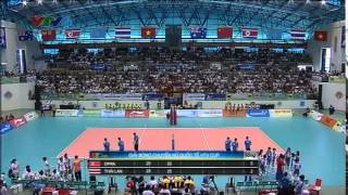 Thailand North Korea [Semi Final VTV Cup 2014] 23-05