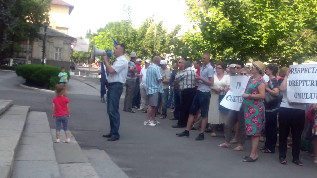 Protestul refugiaților și veteranilor la Procuratura generală