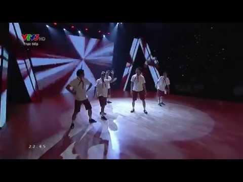 Quang Đăng nhảy