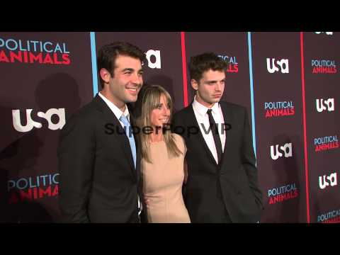 James Wolk; Bonnie Hammer and Sebastian Stan at USA Netwo...