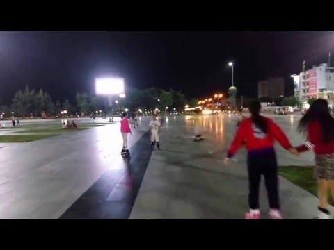 Hoạt động ngoài trời tại quảng trường Quy Nhơn