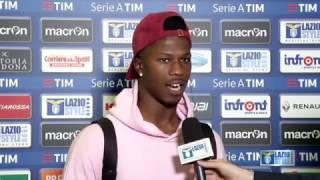 L' analisi di Keita nel post partita di Lazio-Palermo