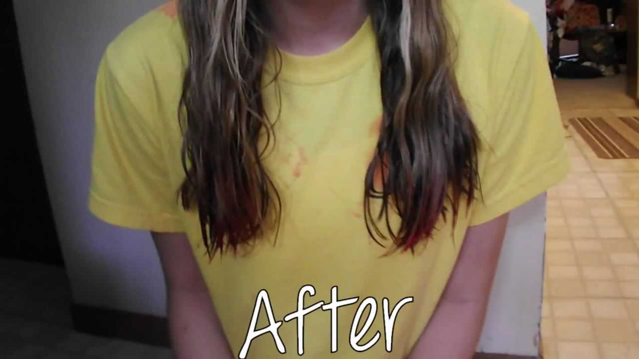 Kool Aid Hair Dye Before And After Bigking Keywords And Pictures
