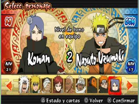 Naruto shippuden legends: akatsuki rising essentials psp
