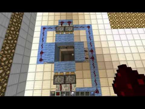 Minecraft how to make a hidden piston door in the ground for 10 ways to make a secret door in minecraft
