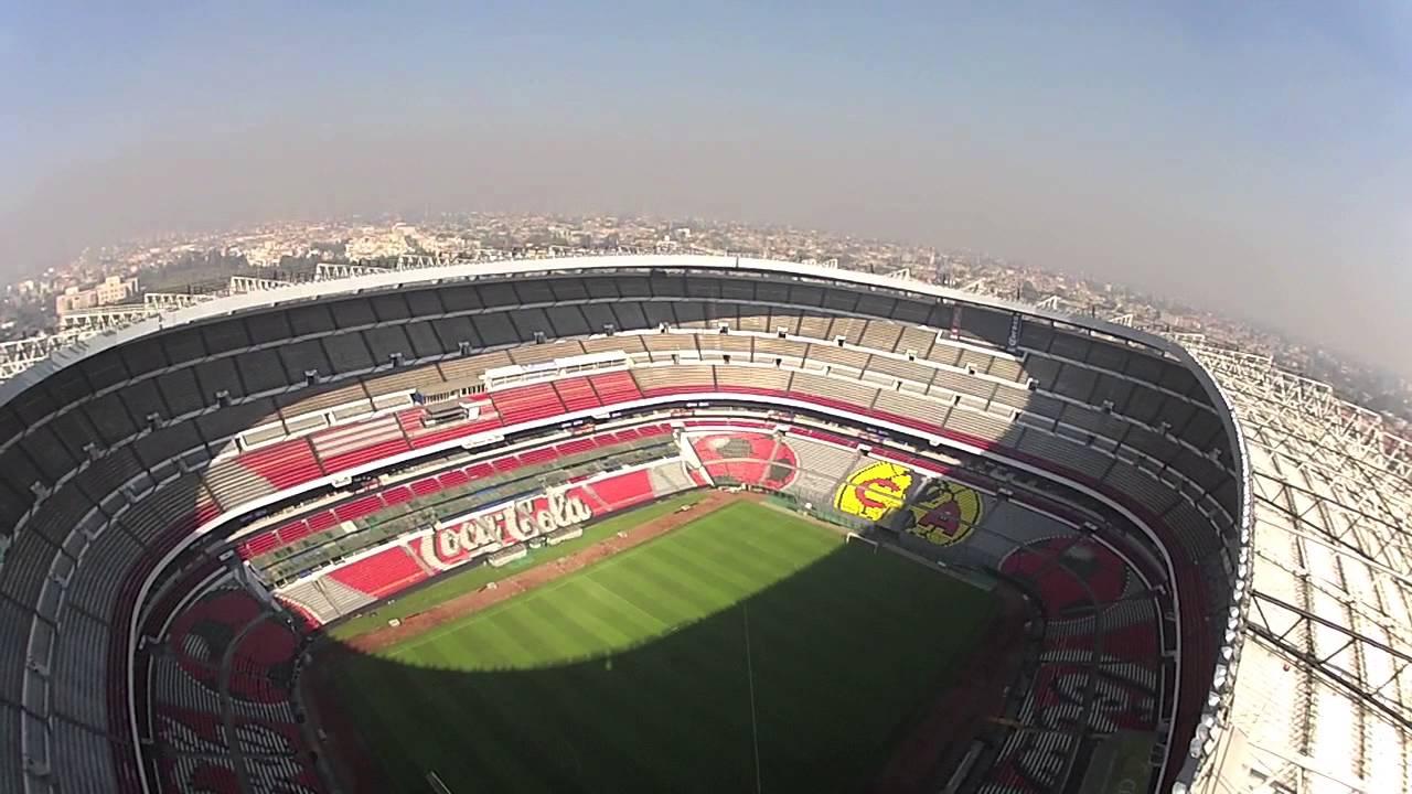 Fotografia aerea mexico estadio azteca fpv mexico youtube for Puerta 1 estadio azteca