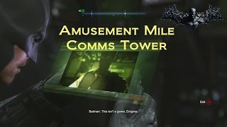 Batman: Arkham Origins: Amusement Mile Comms Tower