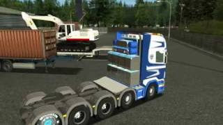 German Truck Simulator 2010 Scania Karner Part 1 view on youtube.com tube online.