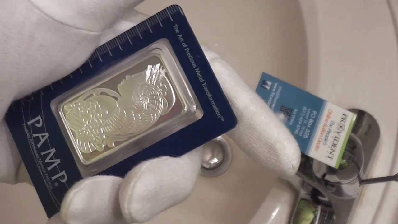 Pamp Suisse 1 Oz Fortuna Silver Bar 999 Fine Review Youtube