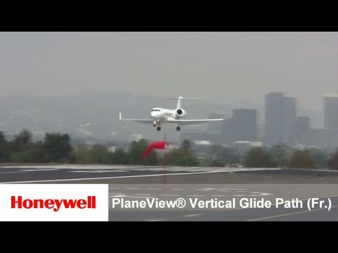 Honeywell Primus Epic® Gulfstream PlaneView® Vertical Glide Path (VGP) (French narration)