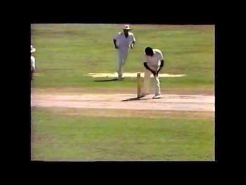 Wayne Larkins (Part 1 of 3) England v West Indies 1st Test Sabina Park Day 5)