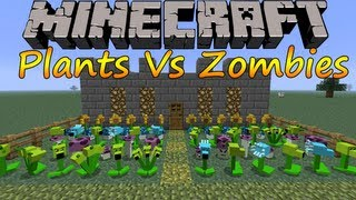 Minecraft 1.6.2 Instalar Plants Vs Zombies / Español