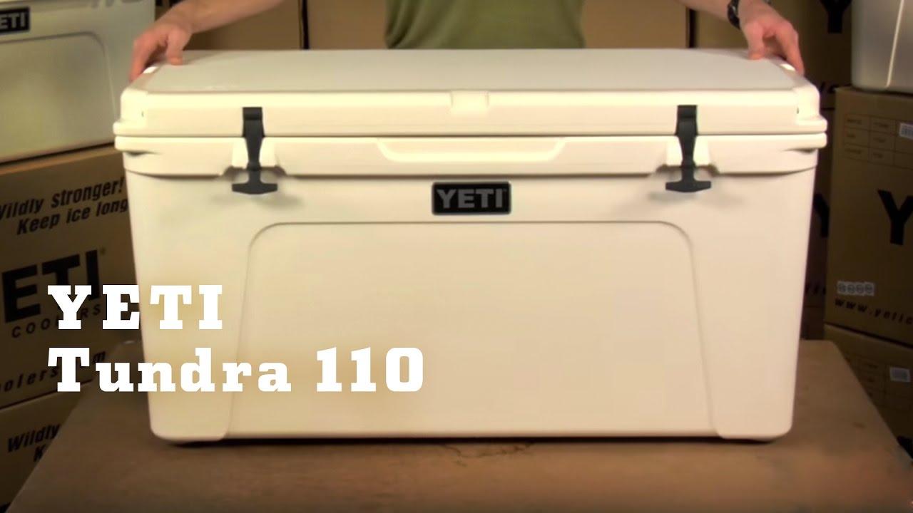Yeti Coolers Tundra 110 Youtube