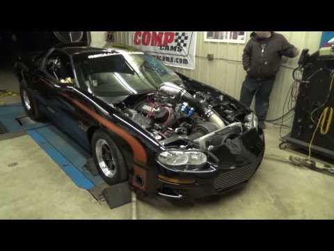 Mike Serrano Camaro 1200 HP Dyno Wars  1-18-14 fonse Racing