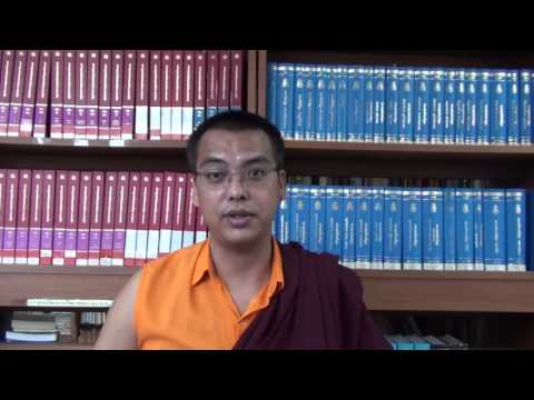 Khenpo Phuntsho Gyaltshen, Director of Academic Affairs.